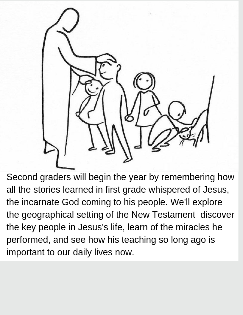 2nd Grade: The Life of Jesus